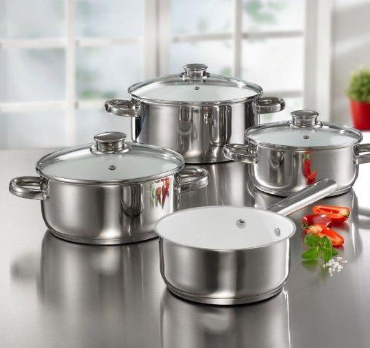 Посуда для приготовления из нержавеющей стали