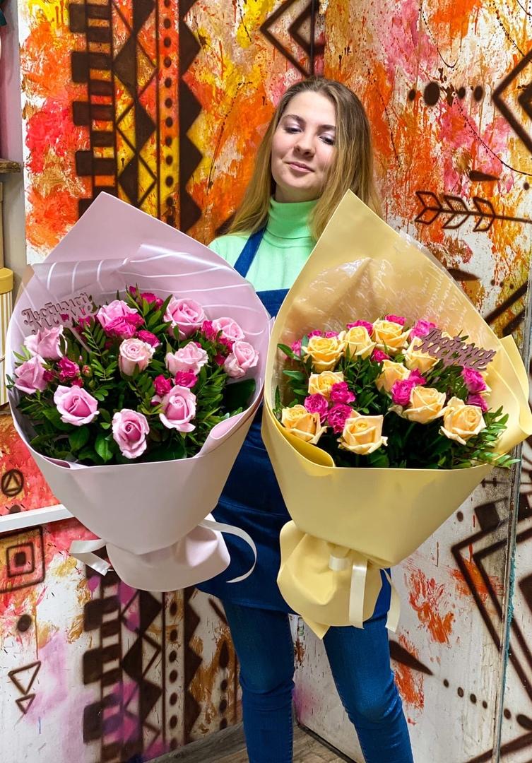 Букет от феи роз Арины