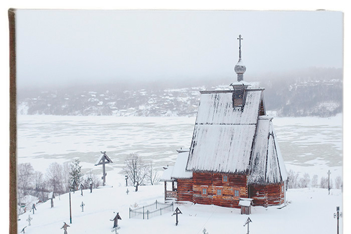 Деревянная церковь в Плёсе