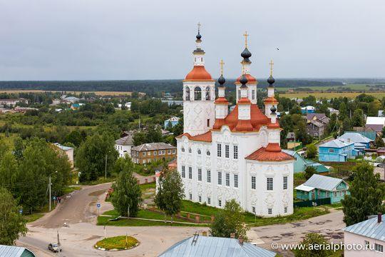 Храмы и монастыри Вологодской области