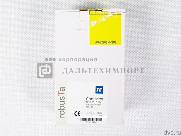 Контактор TC TP1-D2510 (3L-НО + 1НО) 48VDC 25A