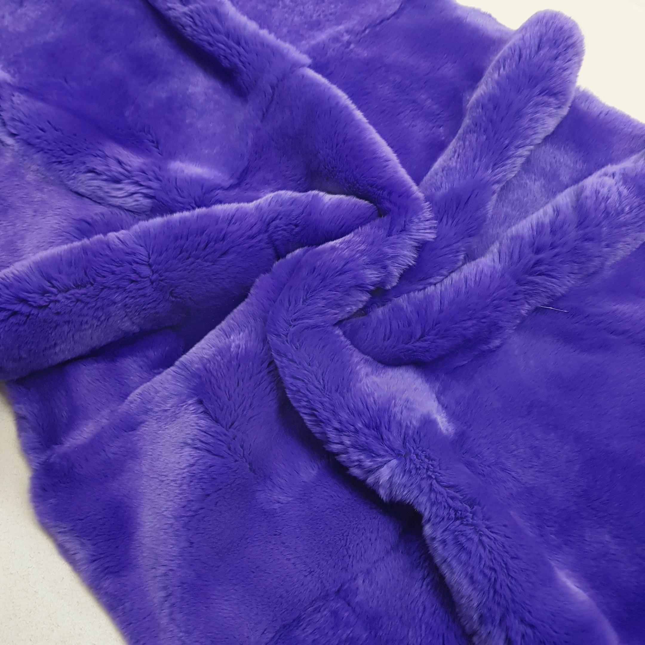 Пластина из кролика рекс фиолет