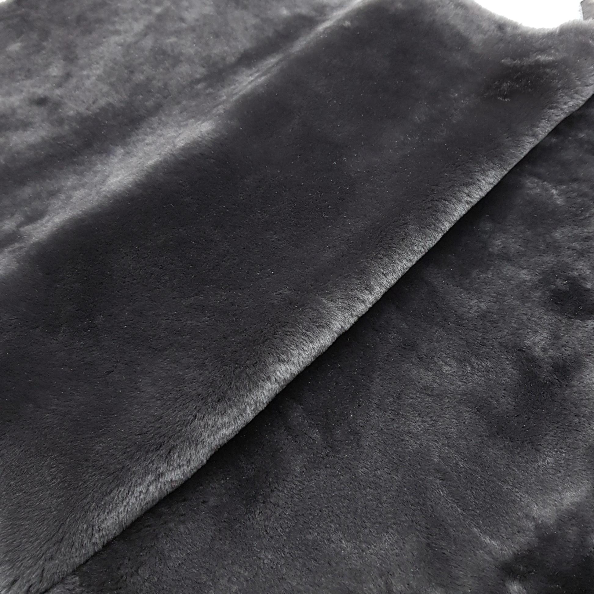 Овчина мутон темный графит