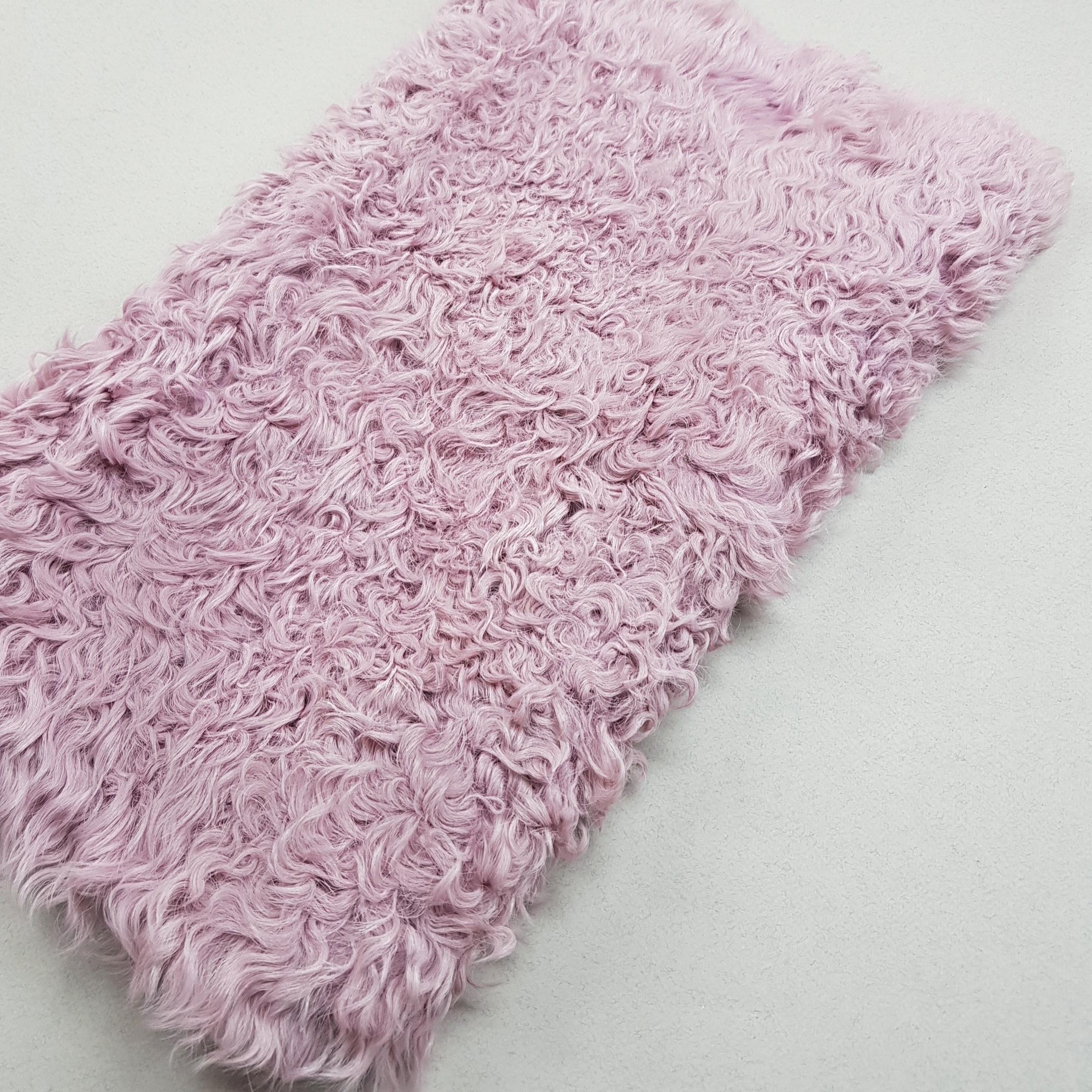 Пластина из калгана розовая