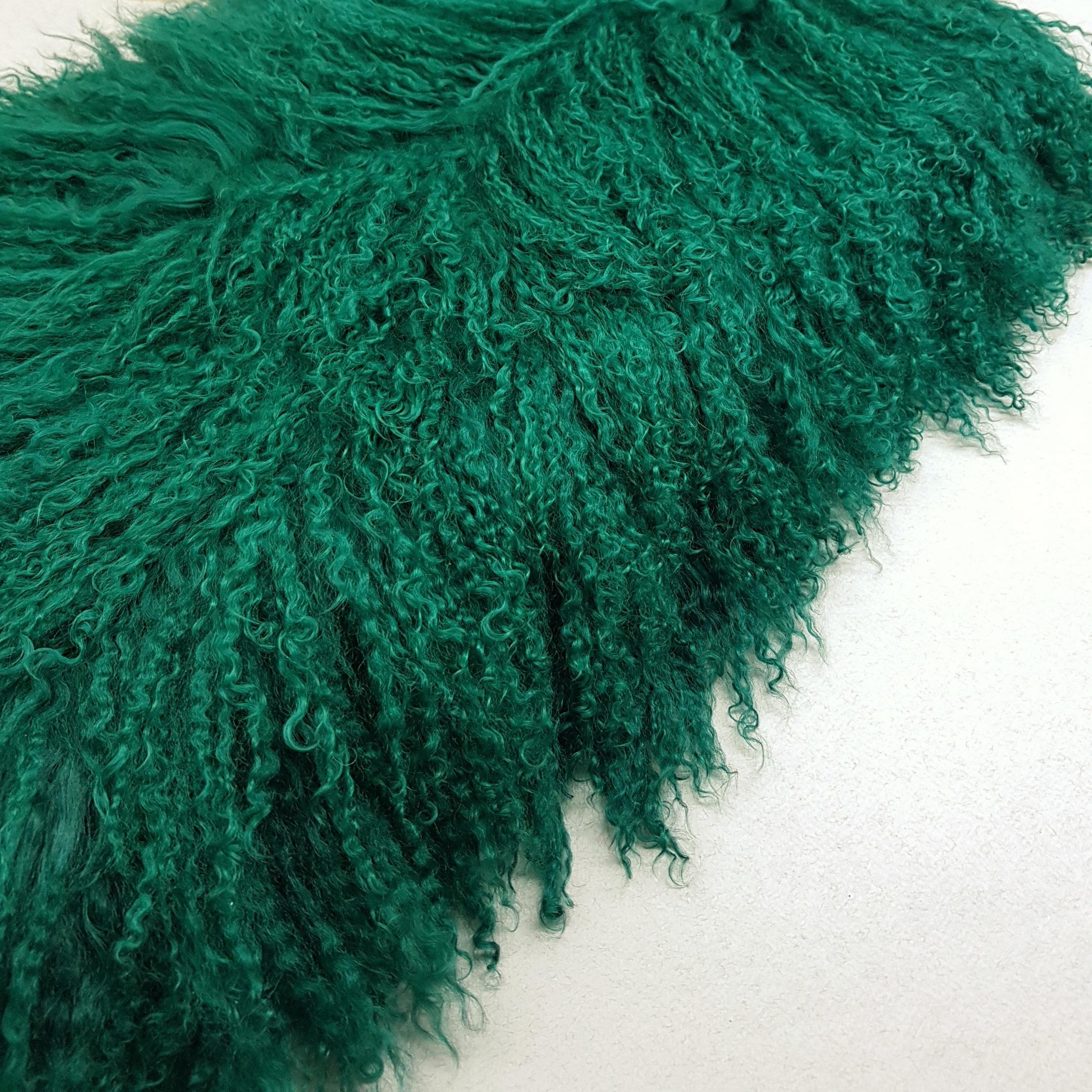 Пластина из ламы зеленая