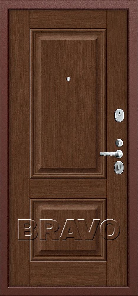 фото T2-232 Антик Медь/Brown Oak от магазина дверей Диас
