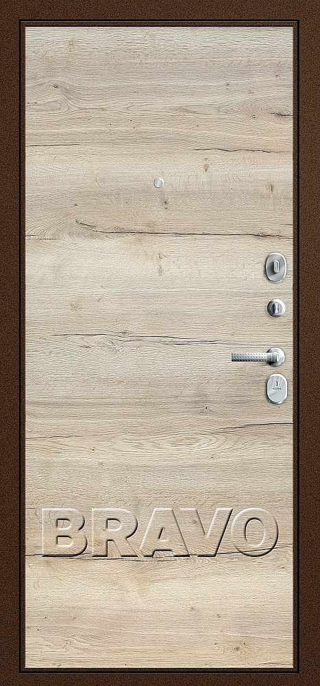 фото Т3-300 Tobacco Oak/Natural Oak от магазина дверей Диас