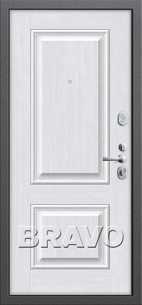 фото T2-232 Антик Серебро/Milk Oak от магазина дверей Диас