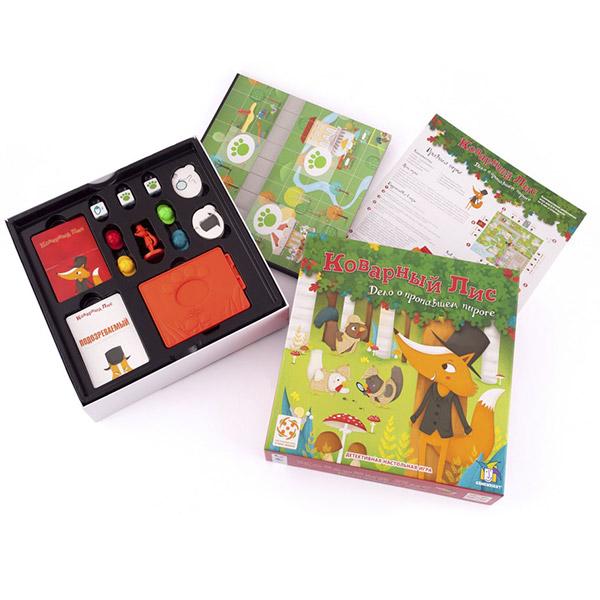 Коварный лис - настольная игра Стиль Жизни от интернет-магазина zabavki.by