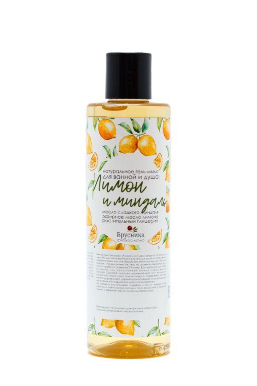 Гель-мыло для душа Лимон и миндаль