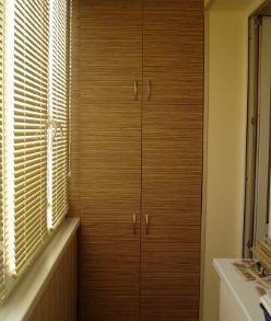 Шкаф на балкон на заказ Севкупешка