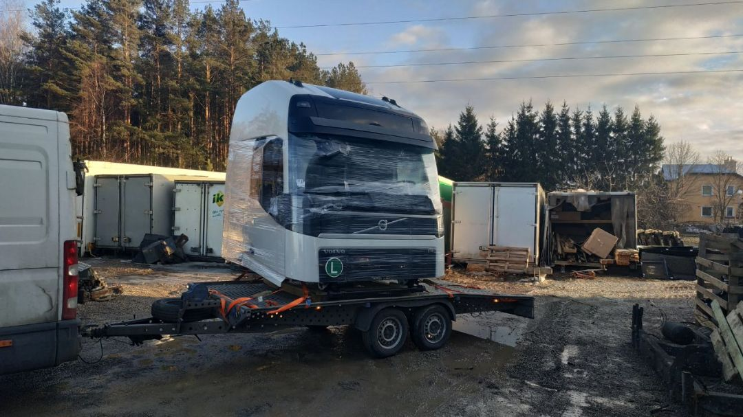 Доставка кабины грузовика в Беларусь