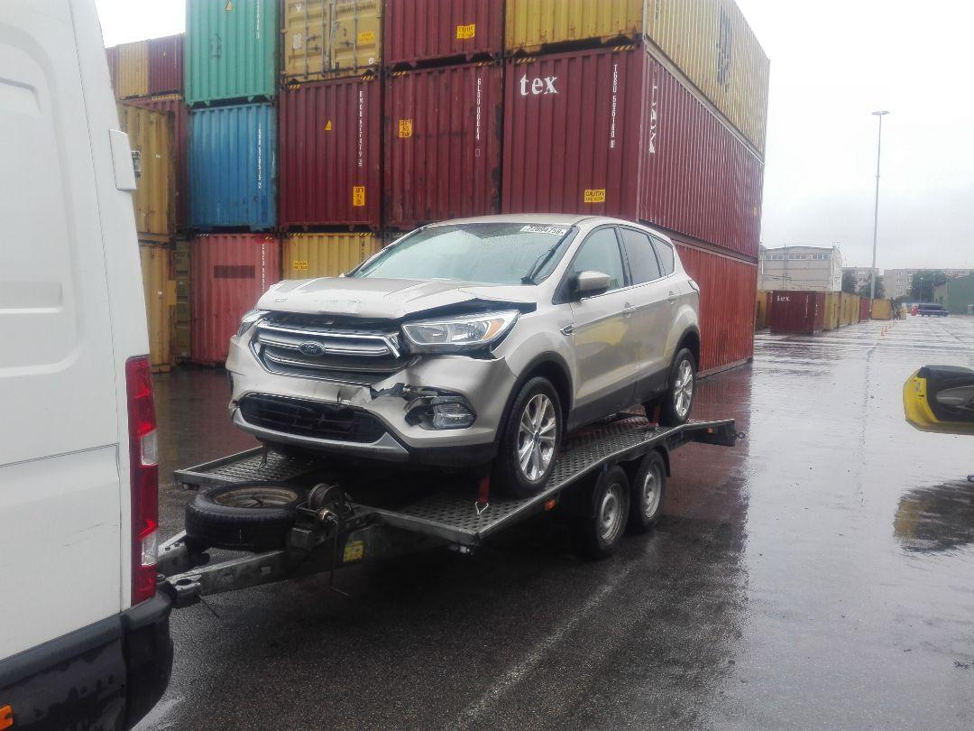 Доставка машины из порта