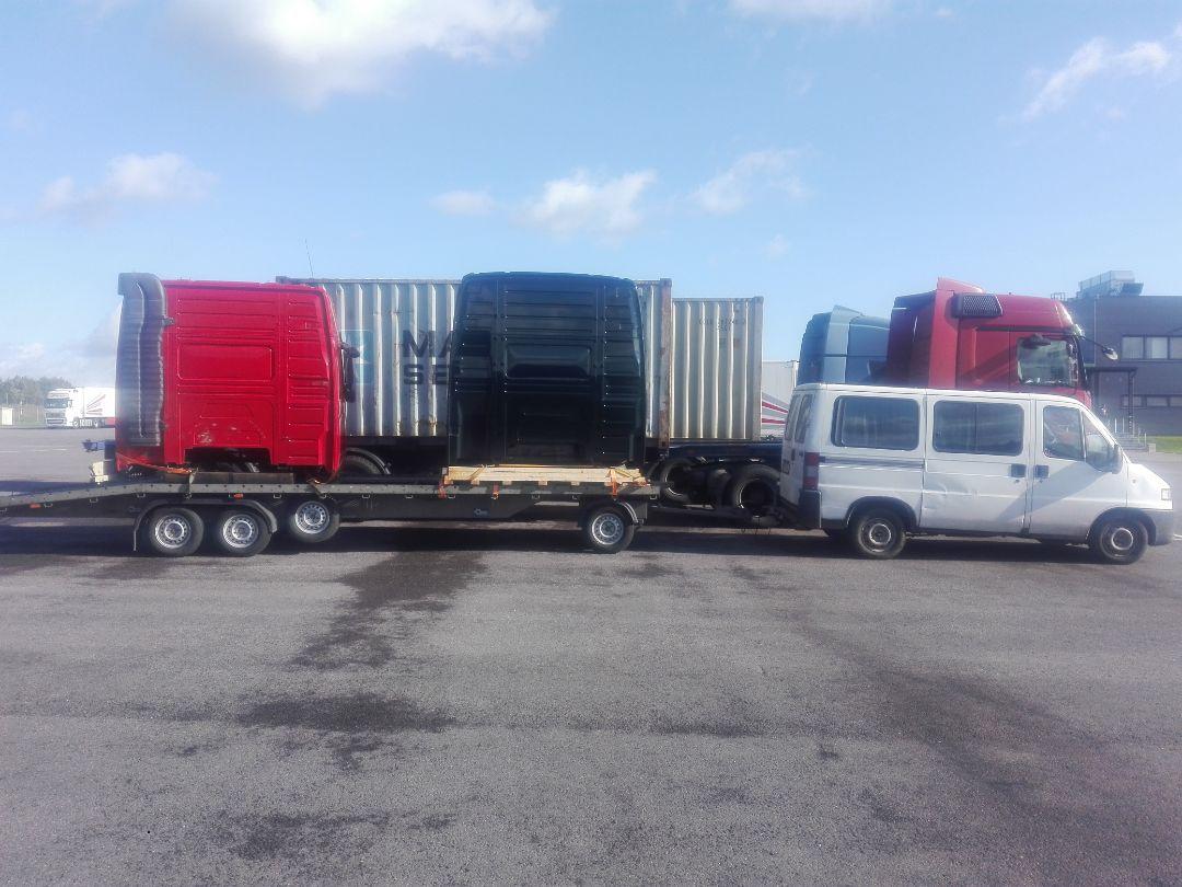 Доставка кабины из Польши