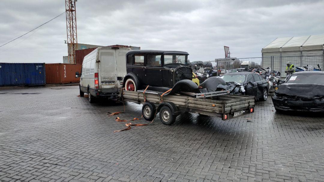Доставка автомобильных  запчастей из Литвы в Питер