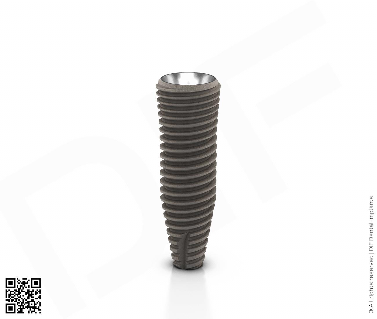 Фото имплантат mainstream fine d4.2 мм – l13.0 мм производства DIF.