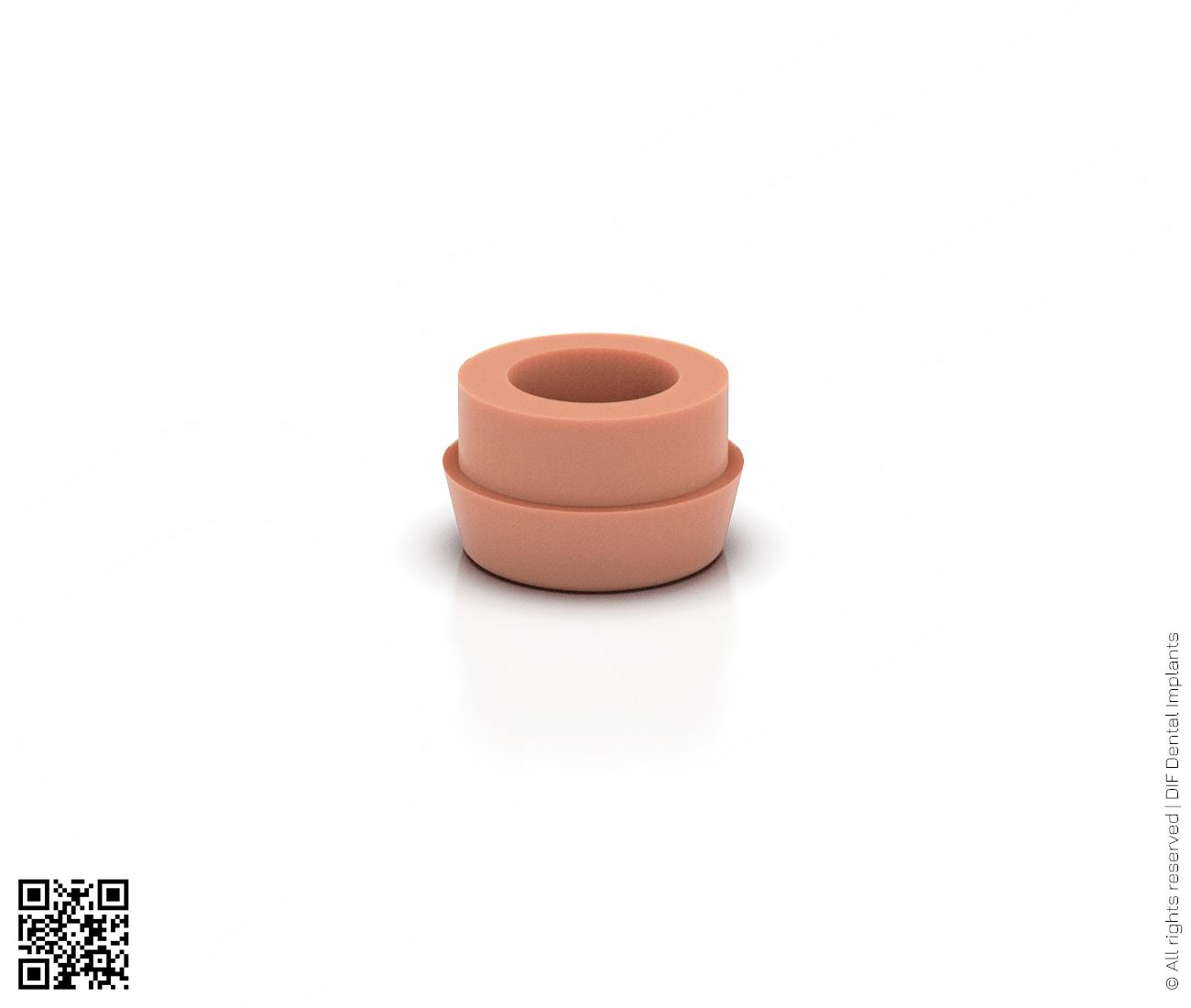 Фото силиконовая матрица ретенция 0.7 кг производства DIF.