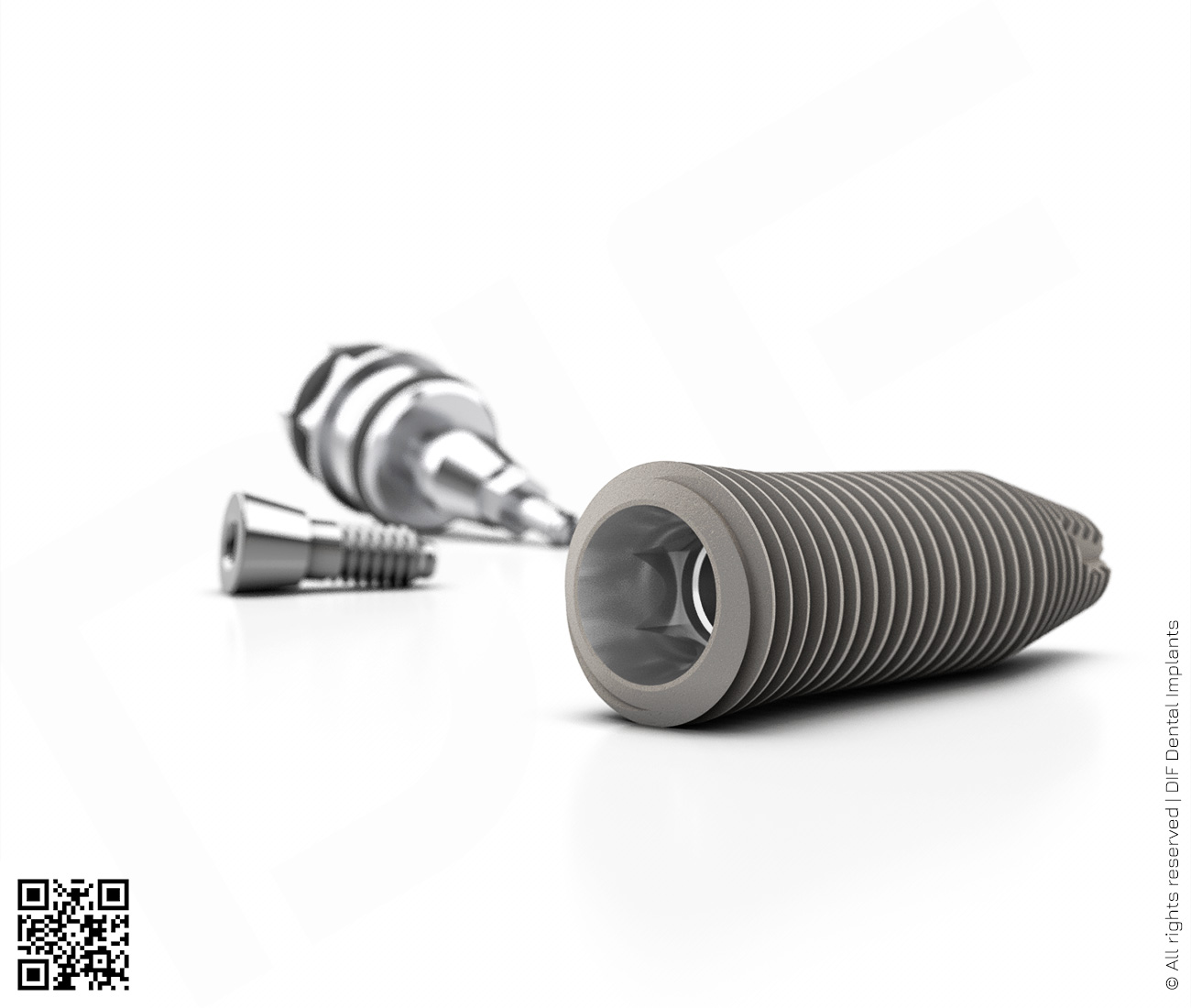 Фото имплантат mainstream fine d5.0 мм – l16.0 мм  производства DIF.