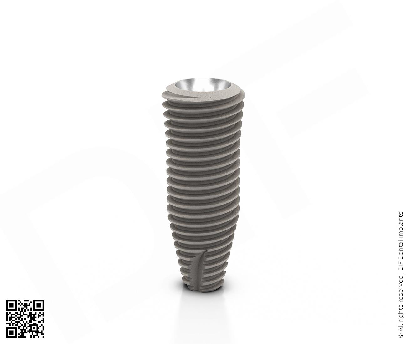 Фото имплантат mainstream fine d5.0 мм – l13.0 мм  производства DIF.