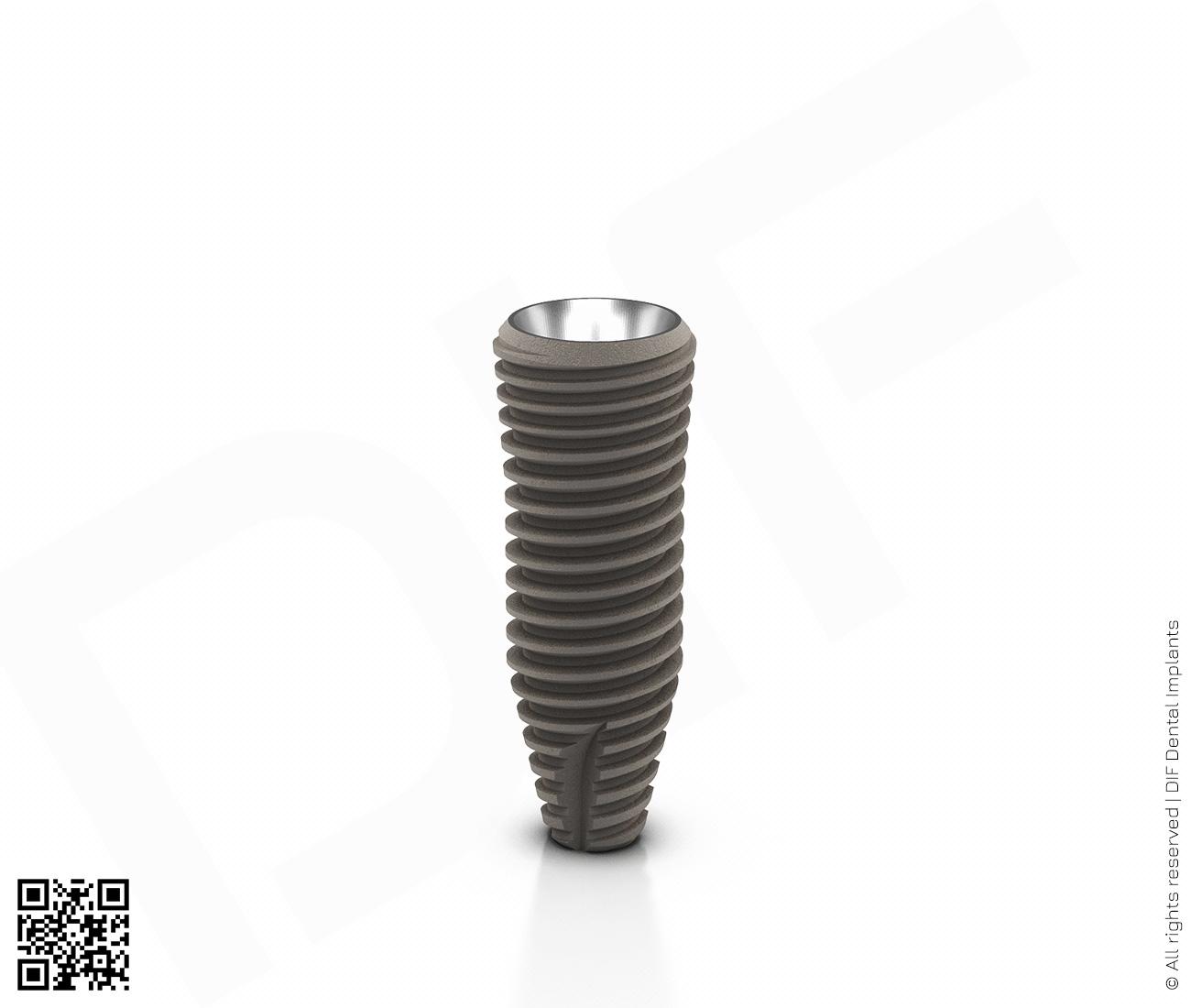 Фото имплантат mainstream fine d4.2 мм – l11.5 мм  производства DIF.