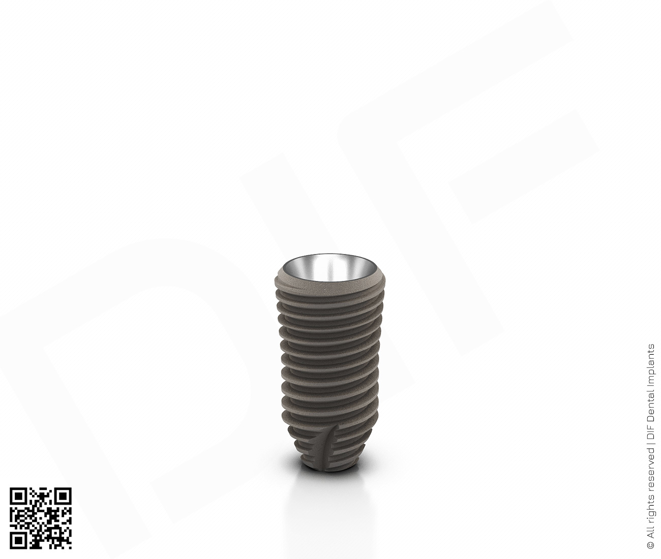 Фото имплантат mainstream fine d4.2 мм – l8.0 мм  производства DIF.