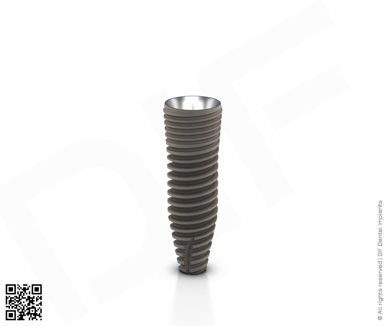 Фото имплантат mainstream fine d3.75 мм – l11.5 мм  производства DIF.