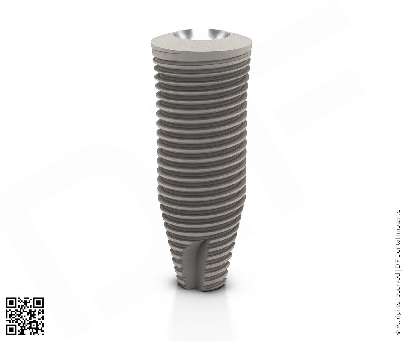 Фото имплантат mainstream fine d6.0 мм – l16.0 мм  производства DIF.