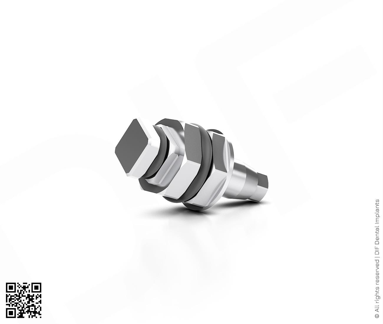 Фото отвертка имплантовод d2.5 мм – l6.0 мм  производства DIF.