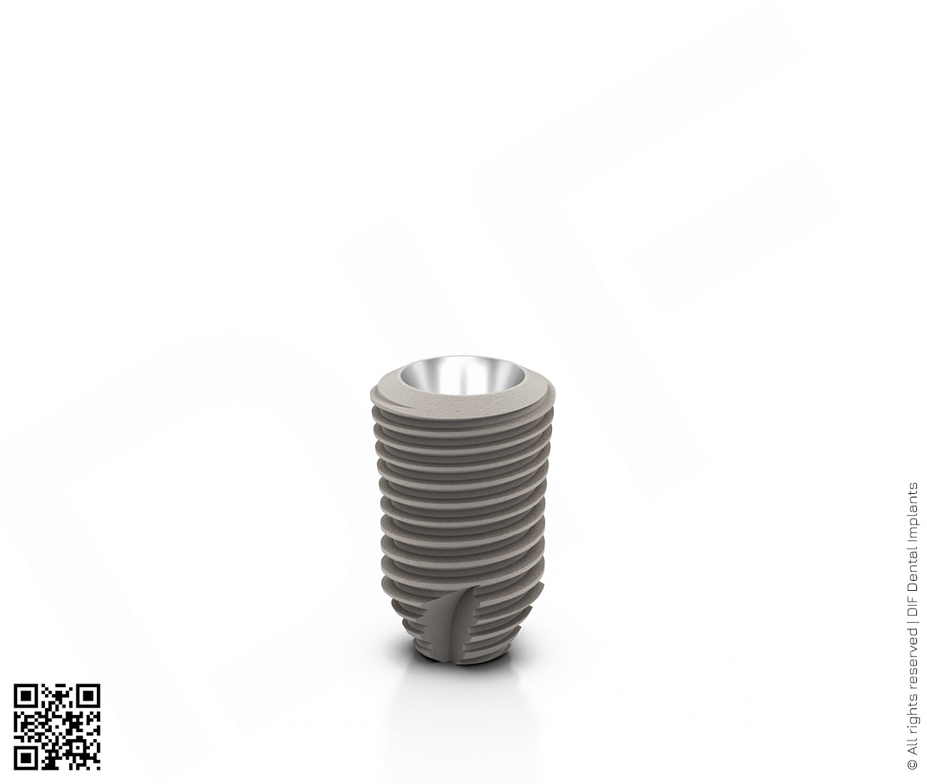 Фото имплантат mainstream fine d5.0 мм – l8.0 мм  производства DIF.