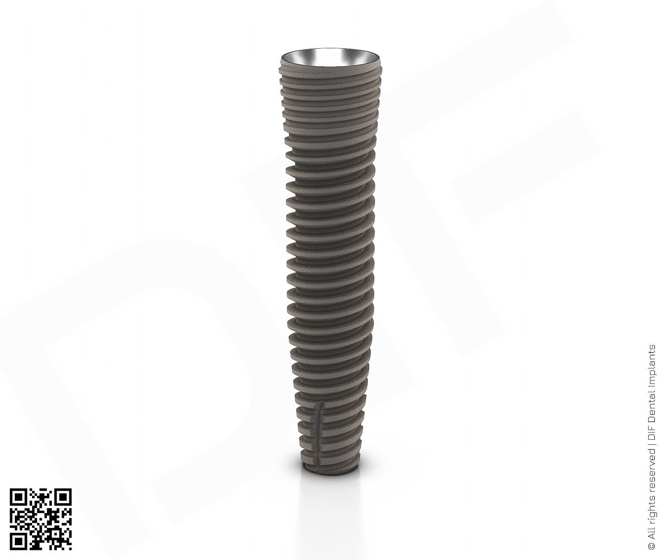 Фото имплантат mainstream fine d3.75 мм – l16.0 мм производства DIF.