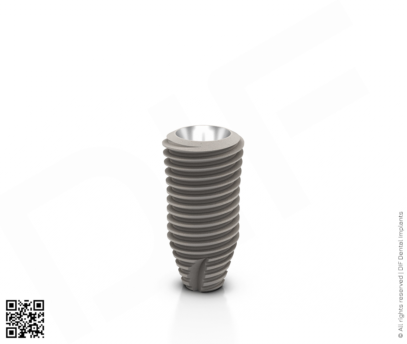 Фото имплантат mainstream fine d5.0 мм – l10.0 мм  производства DIF.