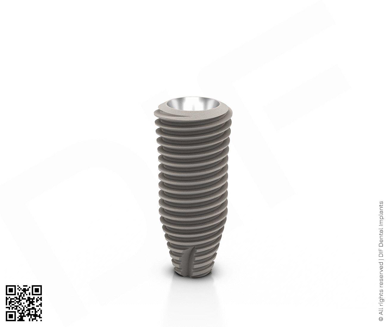 Фото имплантат mainstream fine d5.0 мм – l11.5 мм  производства DIF.