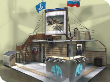 Выставка корабль