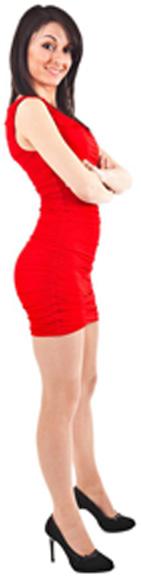 Платье Красная Фея