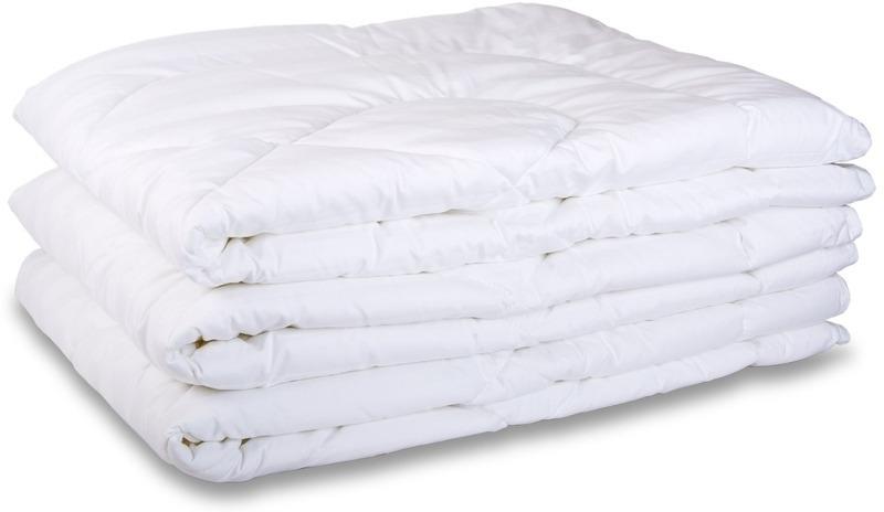 Одеяло полиэфирное бязь отбеленная