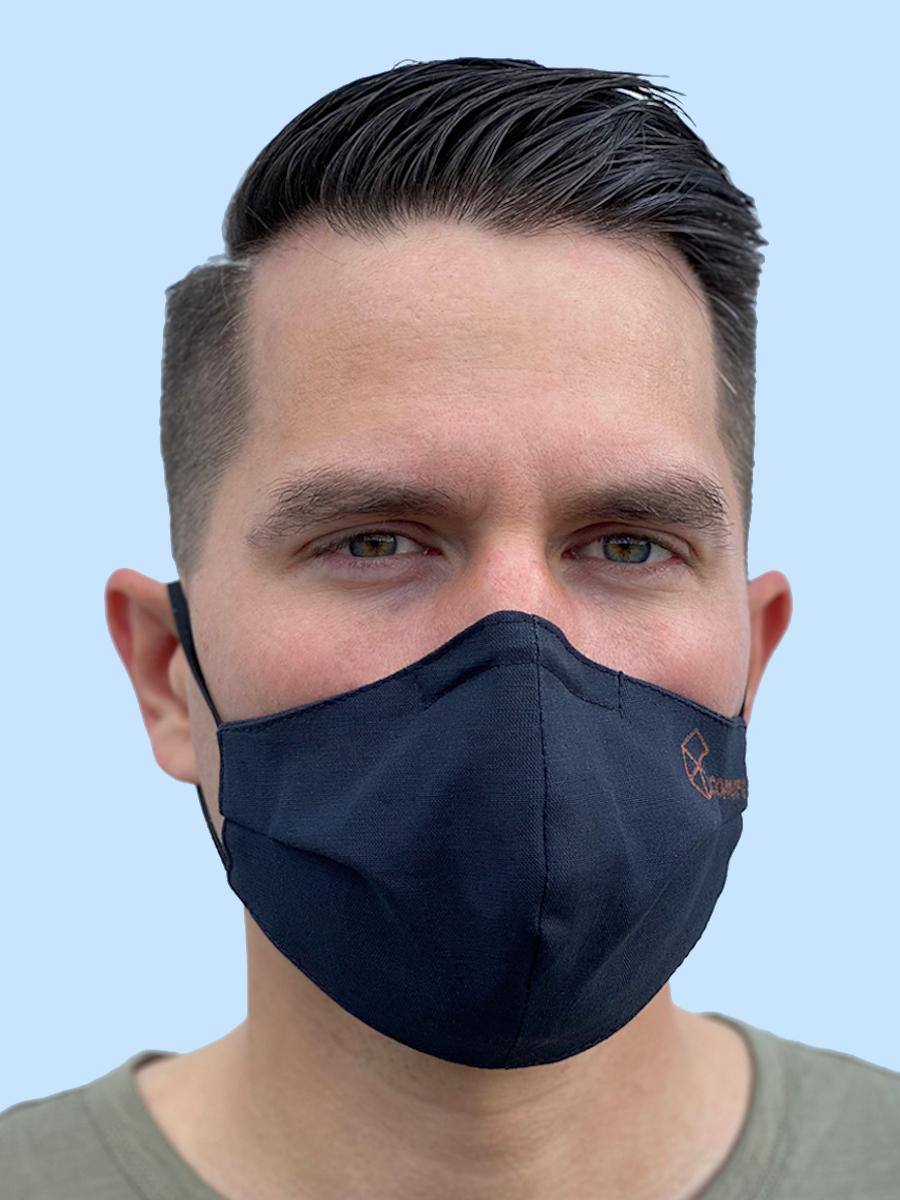 "Антимикробная многоразовая маска ""CoppLife"" с наночастицами меди"