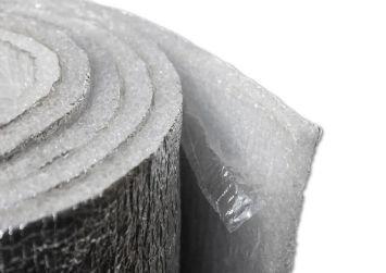Пенополиэтилен с липким слоем