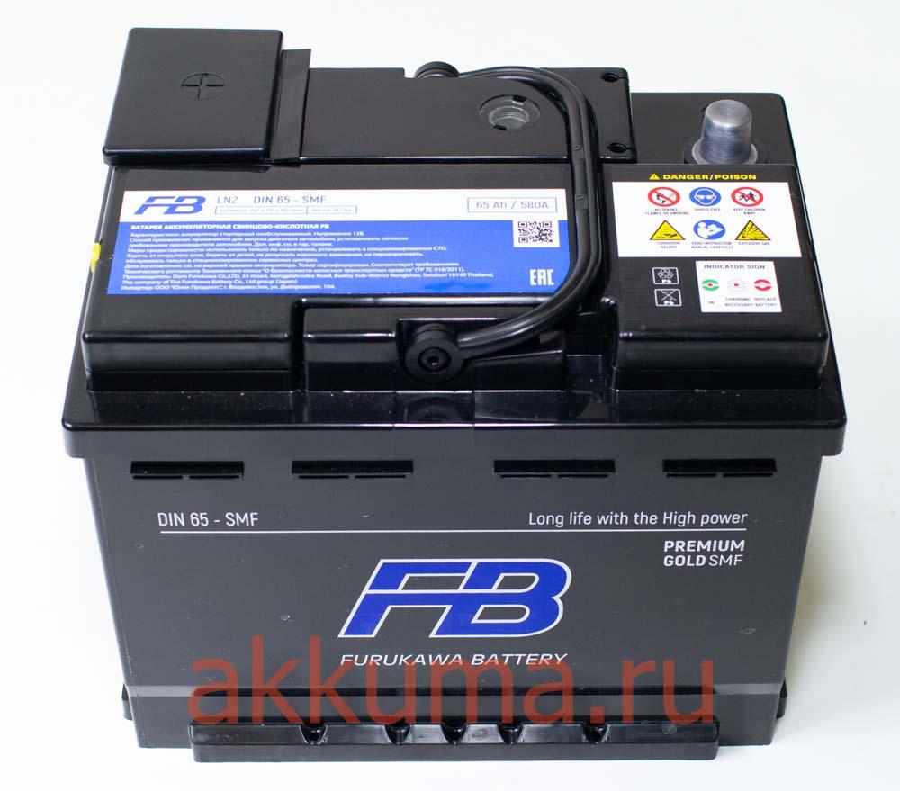 Продажа АКБ Premium Gold 65А/ч Furukawa Battery в СПБ