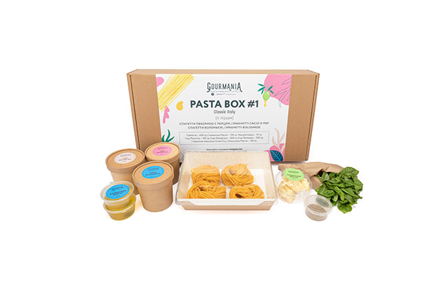 PASTA BOX #1 Classic Italy