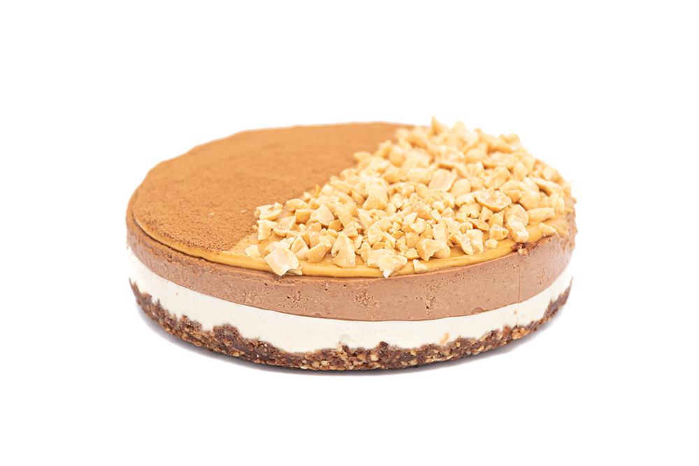 Торт шоколадный с арахисовой прослойкой Сникерс VEGAN 1 кг