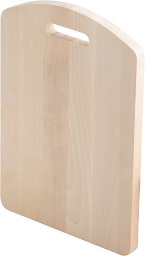 Доска разделочная  береза модель 04-18   (32х22х1,8см.)