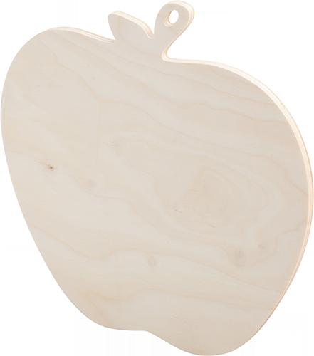 """Доска разделочная фанера """"яблоко"""" модель 08-08  ( 25 х 25 х 0,8 см.)"""