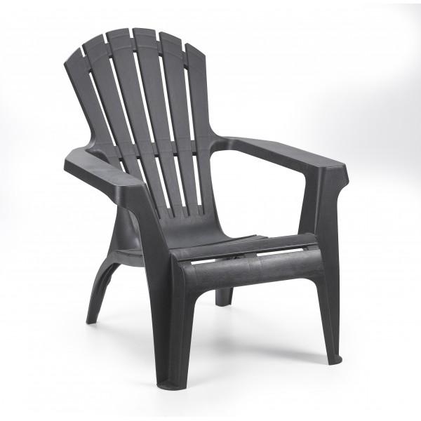 Кресло для отдыха Ipae Dolomiti, антрацит