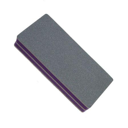 A963 Брусок полировочный Mertz для ногтей, грит 400/4000