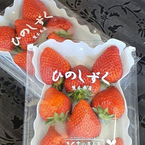 Настоящие японские фрукты