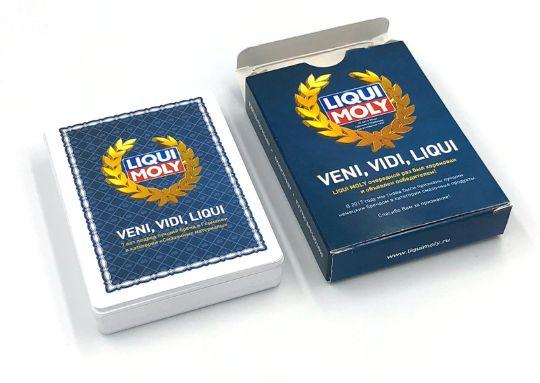 Заказать печать картонных игральных карт
