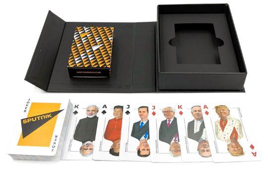 Заказать колоды карт в VIP Box