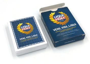 Колода игральных пластиковых карт Liqui Moly