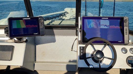 Обучение работе с рыбопоисковым оборудованием на водоеме
