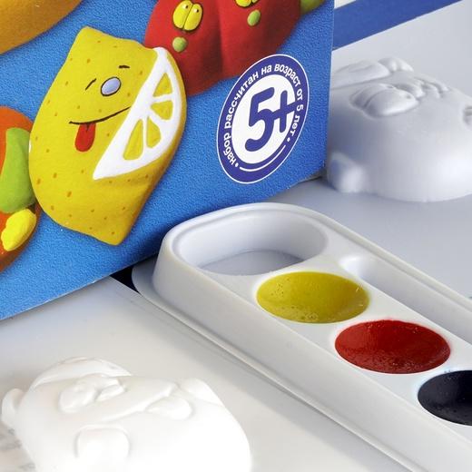 Набор для изготовления и росписи барельефов из гипса